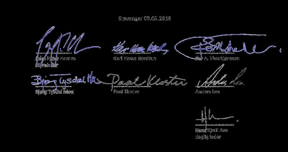 elektronisk signatur årsregnskap